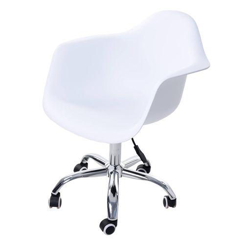 Cadeira-Arm-com-Braco-Branco-Fosco-Rodizio-Cromado---51959