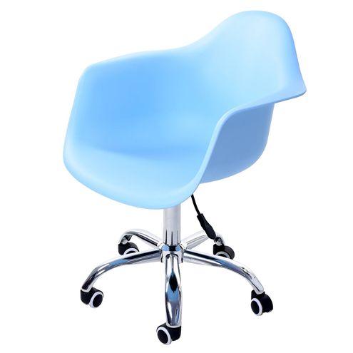 Cadeira-Arm-com-Braco-Azul-Fosco-Rodizio-Cromado---51962