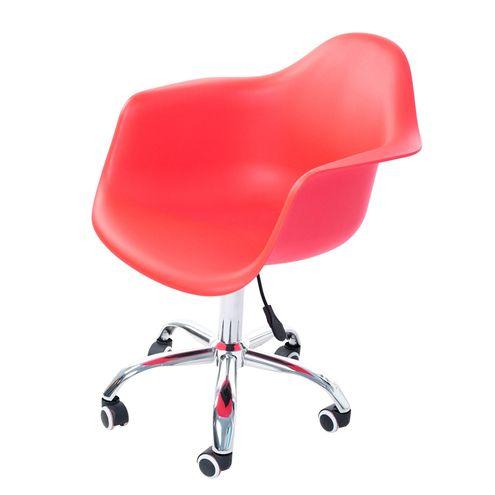 Cadeira-Arm-com-Braco-Vermelho-Fosco-Rodizio-Cromado---51966
