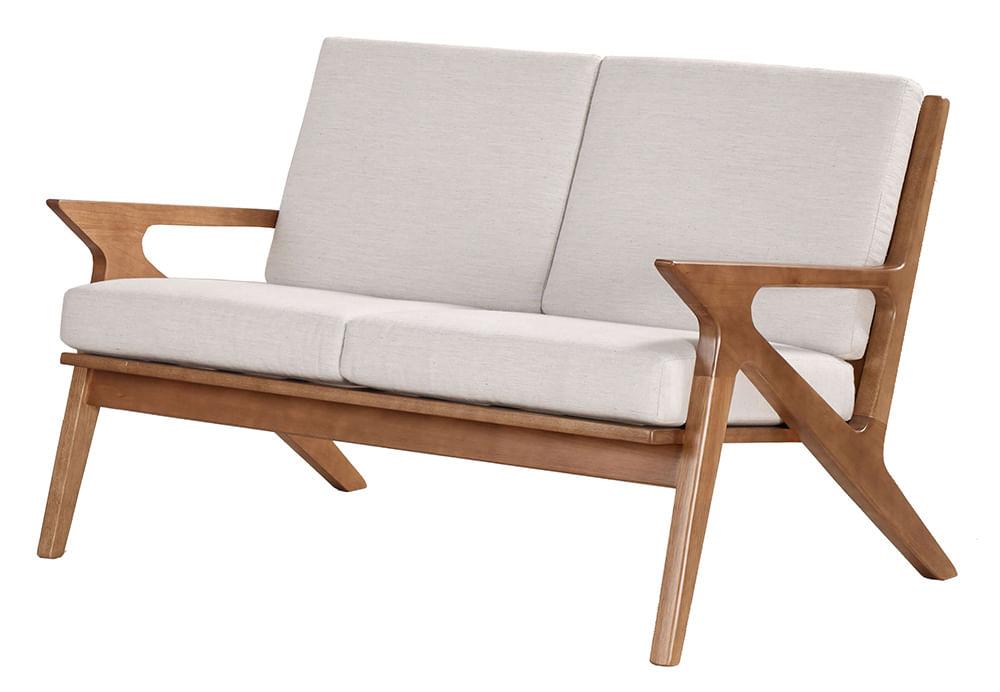 Sofa Milano Estofado Estrutura em Madeira 1,17 MT (LARG) - 51202