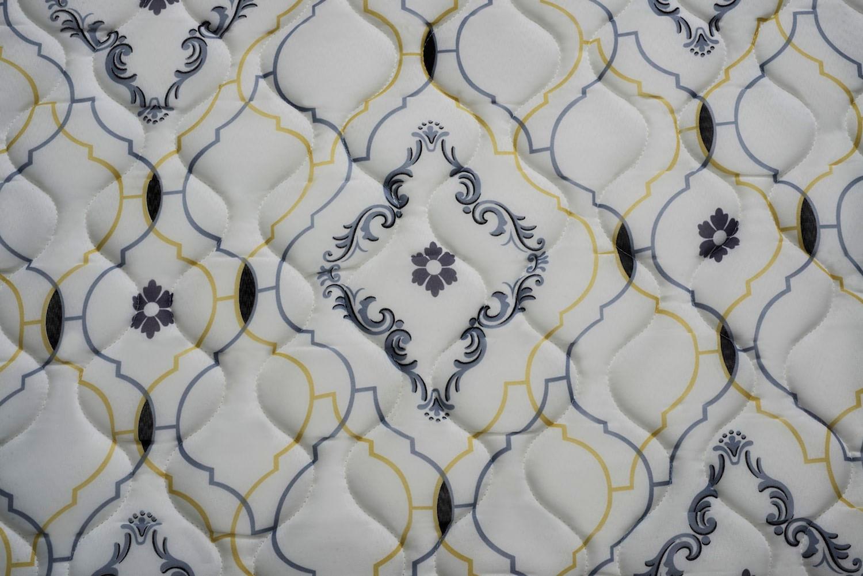 Colchao Iso 1.0.0 - D33 Viuva 128 cm (LARG) Grafite e Branco - 51991