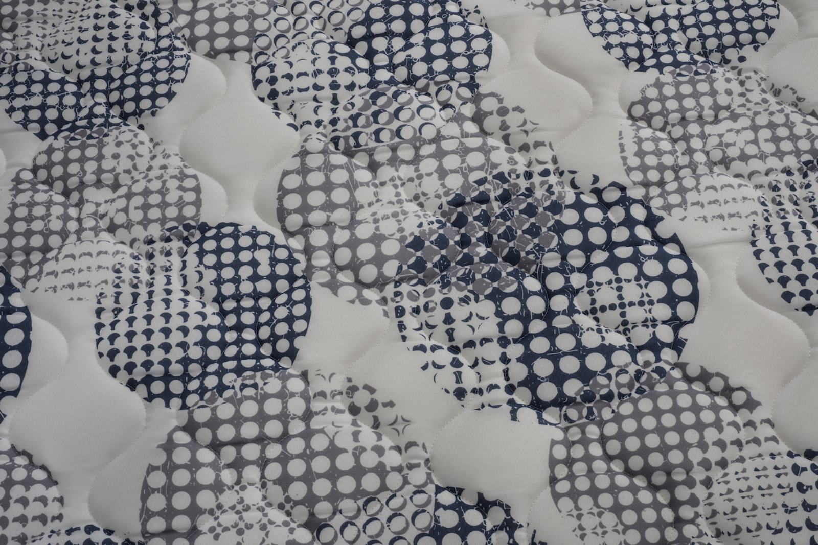 Colchao Iso Superpocket Casal 138 cm (LARG) Preto e Azul - 52015