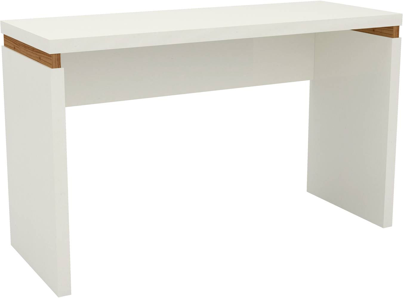 Mesa de Escritorio Viena 1,20 MT cor Off White com Freijo - 51880