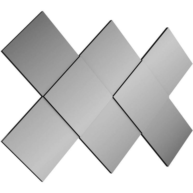Quadro-Espelho-Seta-Pequeno-cor-Preto-Brilho---50486