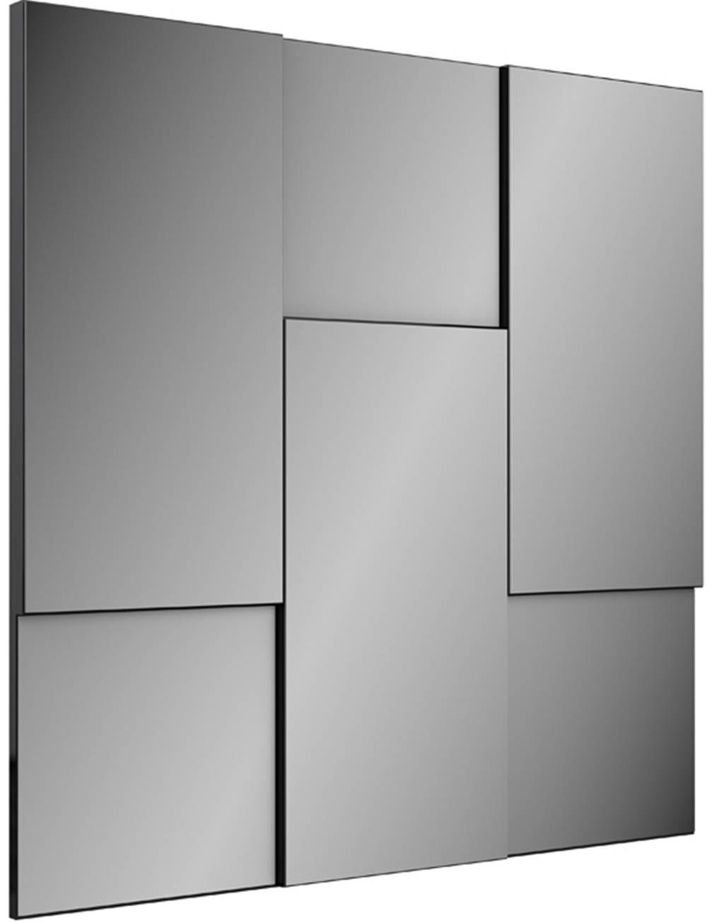 Quadro Espelho Escala Pequeno 90cm (LARG) cor Preto Brilho - 52889