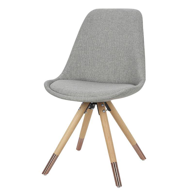 Cadeira-Lunes-Assento-Tecido-Cinza-com-Base-Madeira---46517