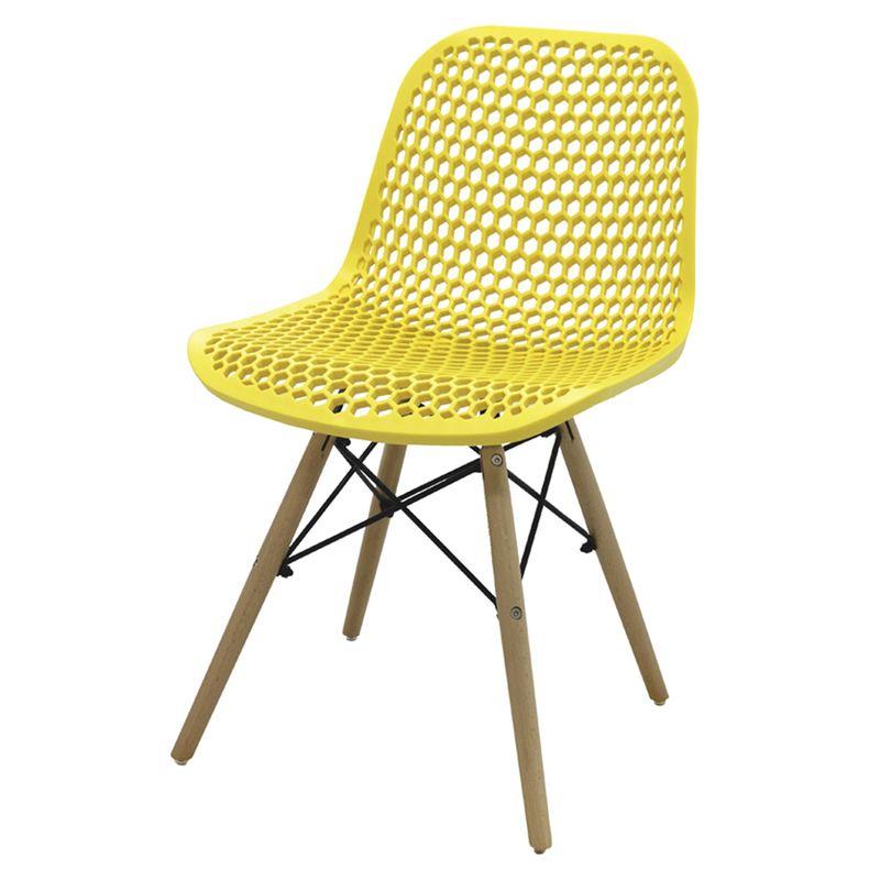 Cadeira-Rock-Polipropileno-Amarelo-Base-Madeira---53302