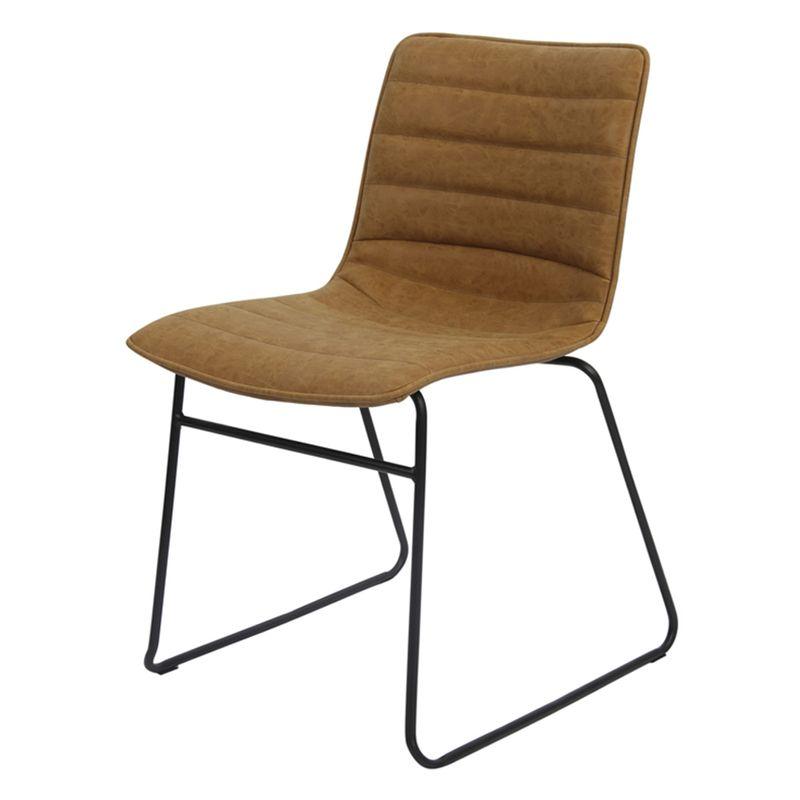 Cadeira-Budd-Assento-Courino-Caramelo-com-Base-Aco-Preto---47340