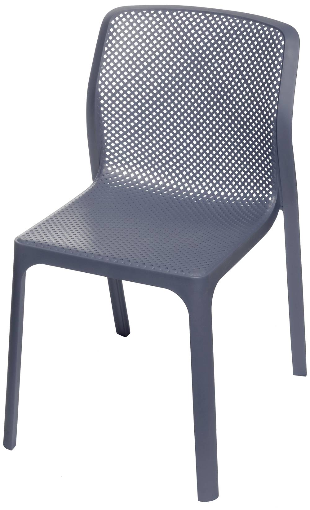 Cadeira Bit Nard Empilhavel Polipropileno Preta - 53558