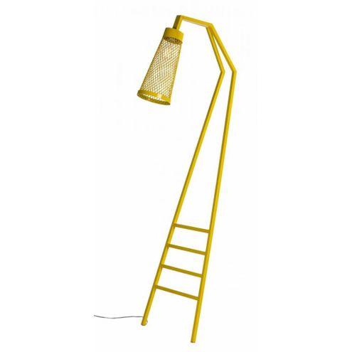 Luminaria-Revisteiro-com-Estrutura-em-Tubo-Redondo-cor-Amarelo-170-MT--ALT--