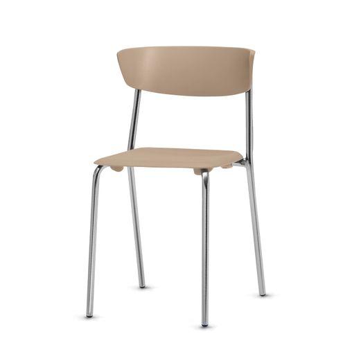 Cadeira-Bit-Assento-Bege-Base-Cromada---53669