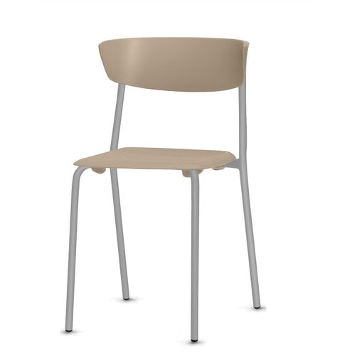 Cadeira-Bit-Assento-Bege-Base-Cinza---53670