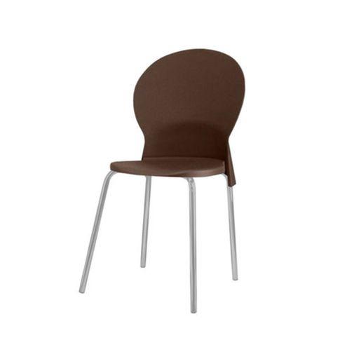 Cadeira-Luna-Assento-Marrom-Base-Cinza---53827