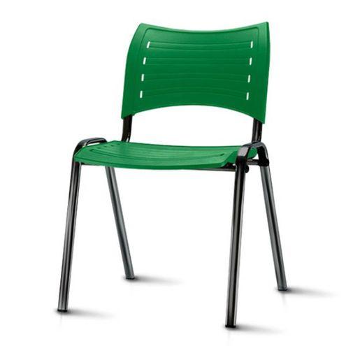 Cadeira-Iso-Assento-Verde-Base-Preta---54032