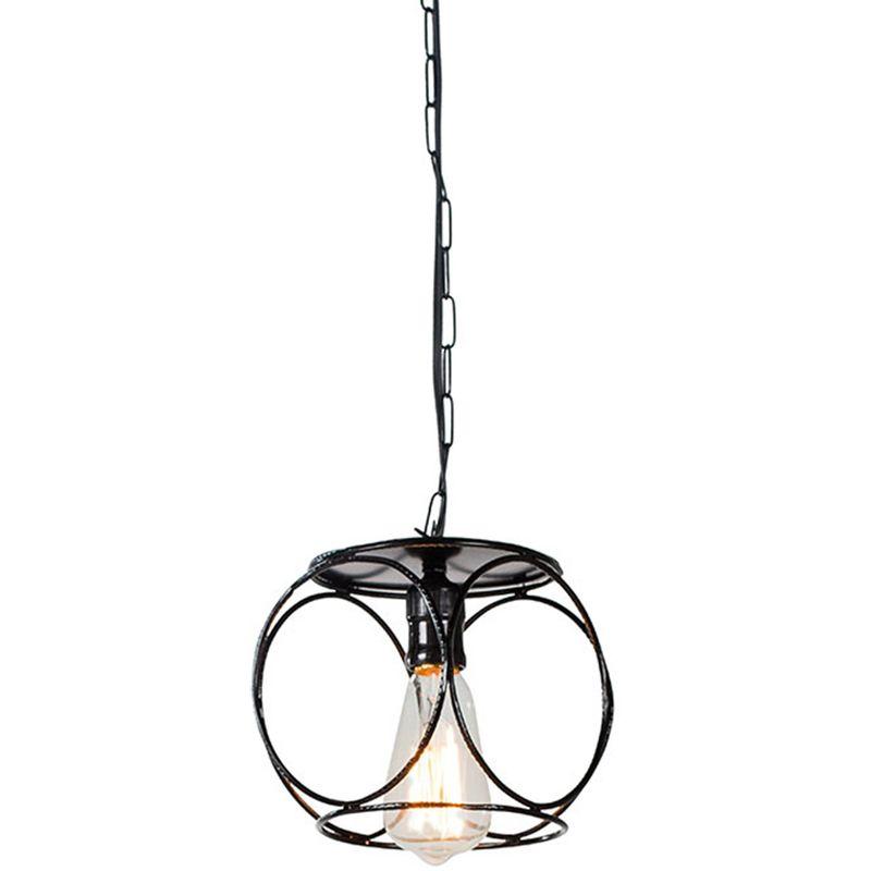 Luminaria-Pendente-Bulbo-Estrutura-em-Ferro-Redondo-cor-Preto-016-cm--ALT----54095