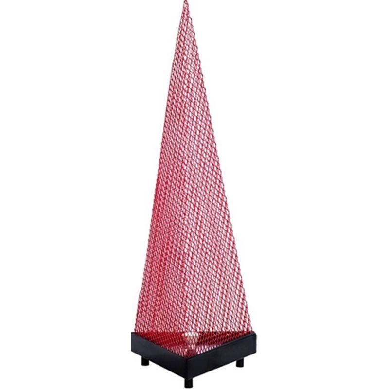 Luminaria-de-Chao-Alamo-Estrutura-Tela-Expandida-cor-Vermelho-Base-em-Chapa-100-MT--ALT----54078