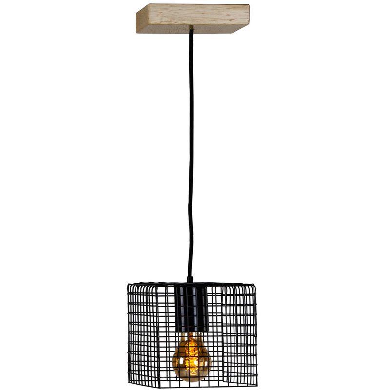 Luminaria-Pendente-Ogy-Tela-Quadrada-Caixa-Multilaminada-cor-Preto-015-cm--ALT----54127