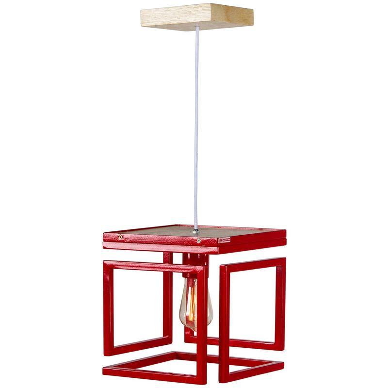 Luminaria-Blog-Estrutura-de-Tubo-de-Ferro-cor-Vermelho-025-cm--ALT----54125