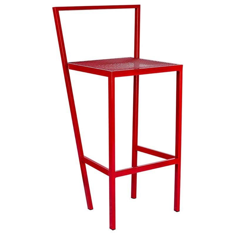Banqueta-IVI-Estrutura-em-Tubo-Tela-Expandida-cor-Vermelha-110-MT--ALT----54198