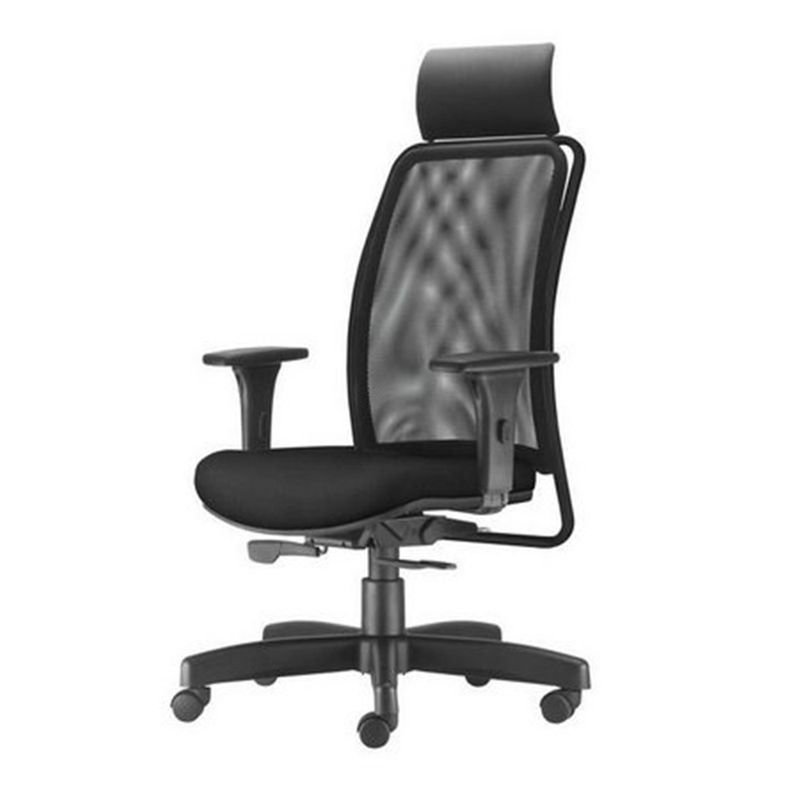 Cadeira-Soul-Presidente-com-Encosto-de-Cabeca-Assento-Crepe-Preto-Base-Metalica-com-Capa---54224