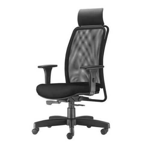 Cadeira-Soul-Presidente-com-Encosto-de-Cabeca-Assento-Courissimo-Preto-Base-Metalica-com-Capa---54226
