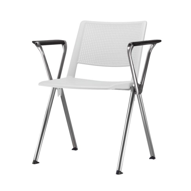 Cadeira-Up-com-Bracos-Assento-Branco-Base-Fixa-Cromada---54327