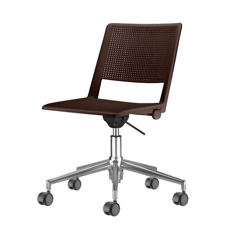 Cadeira-Up-Assento-Marrom-Base-Rodizio-Piramidal-em-Aluminio---54335