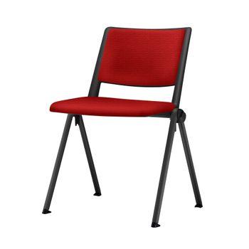 Cadeira-Up-Assento-Estofado-Vermelho-Base-Fixa-Preta---54346