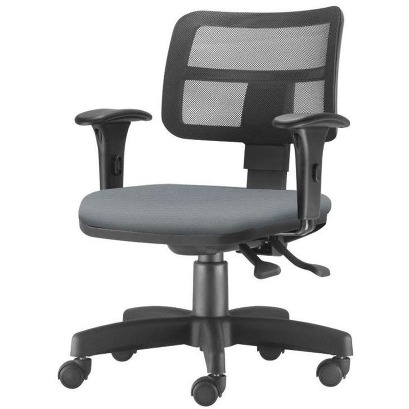 Cadeira-Zip-Tela-Com-Bracos-Assento-Crepe-Cinza-Claro-Base-Rodizio-Metalico-Preto---54453