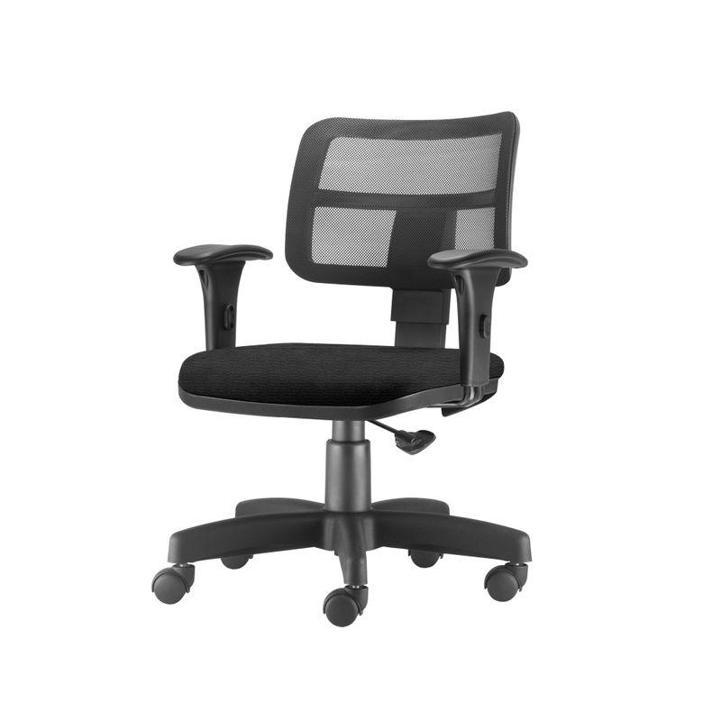 Cadeira-Zip-Tela-Com-Bracos-Assento-Crepe-Preto-Base-Rodizio-Metalico-Preto---54468