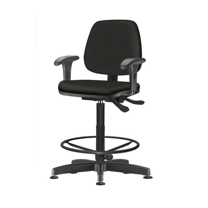 Cadeira-Job-com-Bracos-Assento-Courino-Base-Caixa-Metalica-Preta---54530