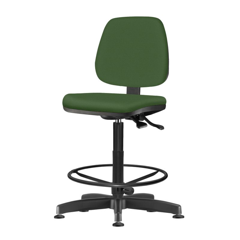 Cadeira-Job-Assento-Crepe-Verde-Base-Caixa-Metalica-Preta---54540