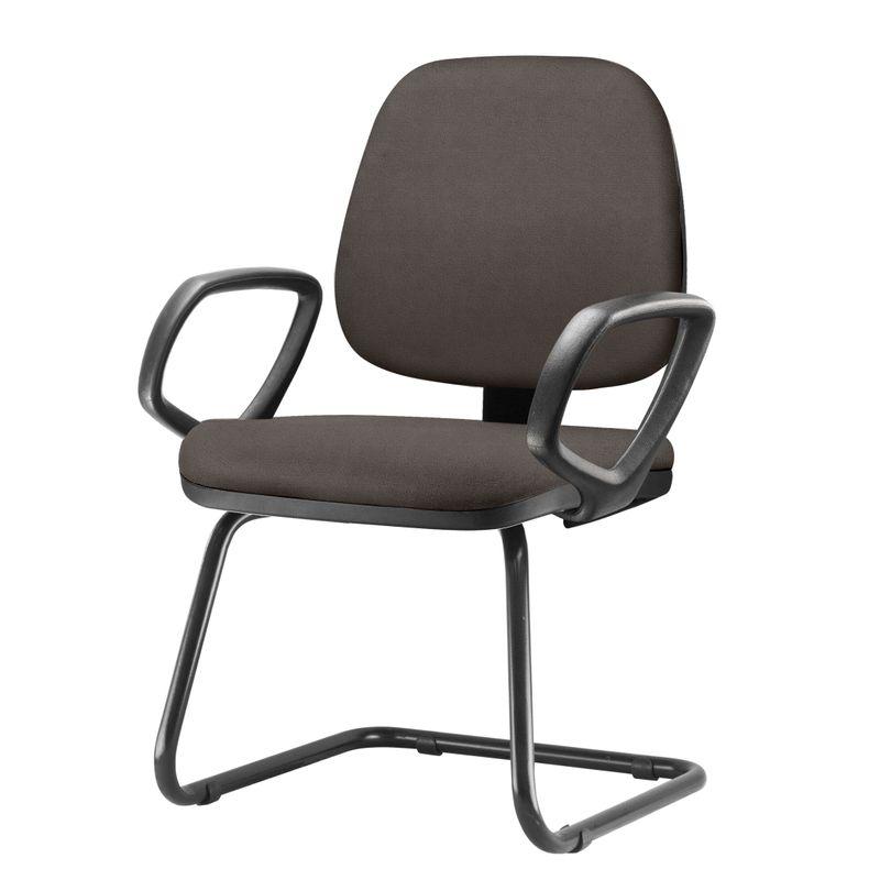 Cadeira-Job-Com-Bracos-Fixos-Assento-Courino-Cinza-Escuro-Base-Fixa-Preta---54548-