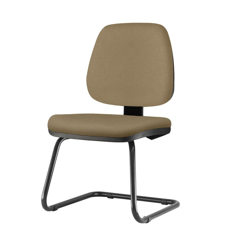 Cadeira-Job-Assento-Courino-Marrom-Claro-Base-Fixa-Preta---54561