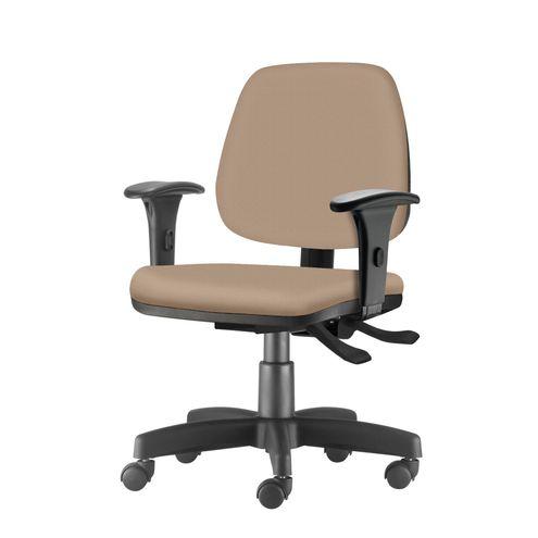 Cadeira-Job-com-Bracos-Assento-Courino-Bege-Base-Rodizio-Metalico-Preto---54601
