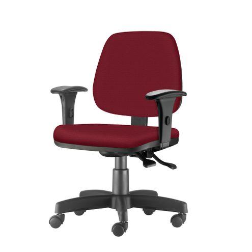 Cadeira-Job-com-Bracos-Assento-Crepe-Vinho-Base-Rodizio-Metalico-Preto---54608