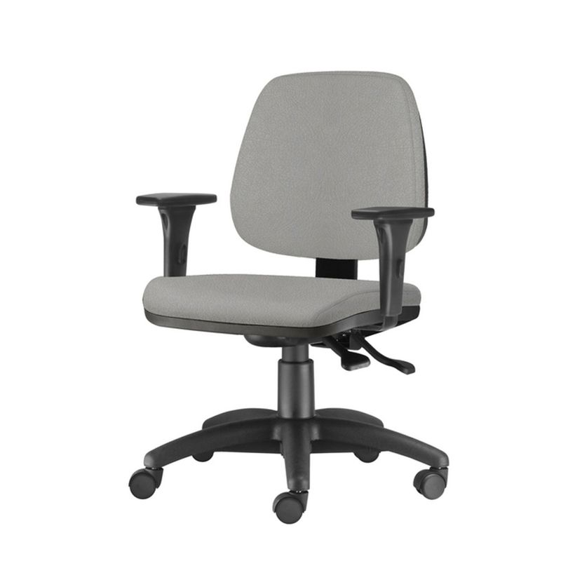 Cadeira-Job-com-Bracos-Assento-Crepe-Cinza-Claro-Base-Nylon-Arcada---54609