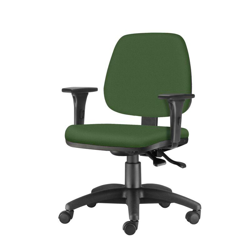 Cadeira-Job-com-Bracos-Assento-Crepe-Verde-Base-Nylon-Arcada---54613-
