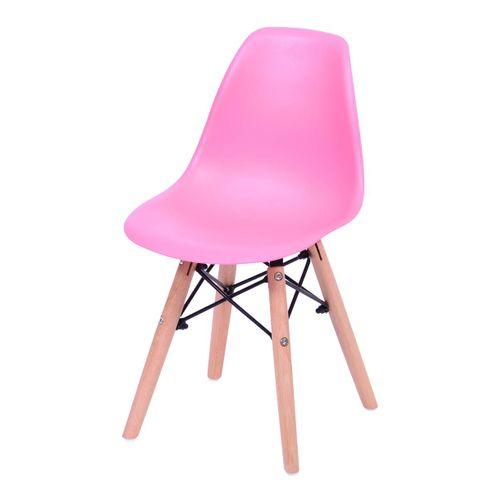 Cadeira-INFANTIL-Eames-Polipropileno-Rosa-com-Base-Madeira---43116
