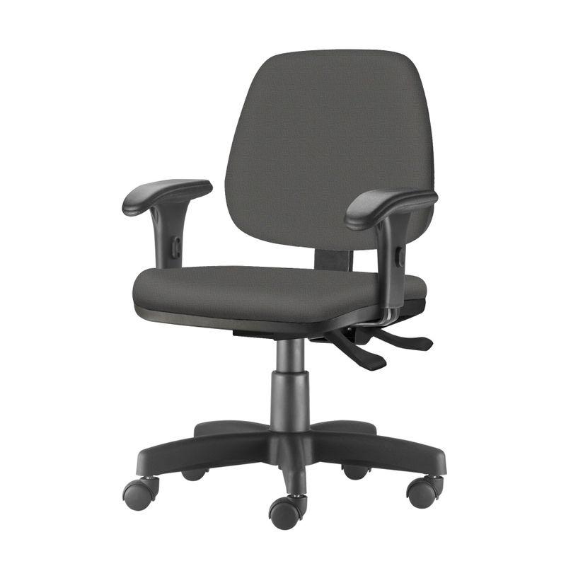 Cadeira-Job-com-Bracos-Curvados-Assento-Crepe-Cinza-Escuro-Base-Rodizio-Metalico-Preto---54621