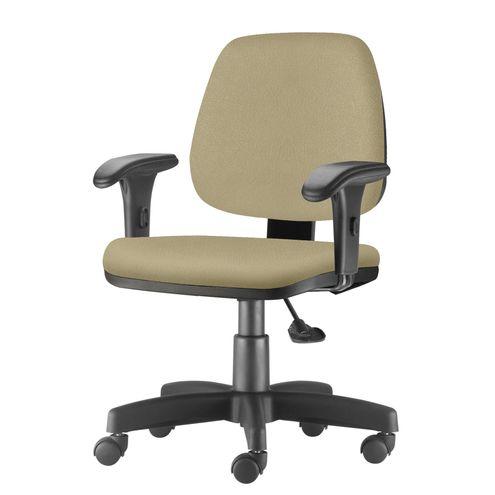 Cadeira-Job-com-Bracos-Curvados-Assento-Fixo-Courino-Bege-Base-Rodizio-Metalico-Preto---54636-