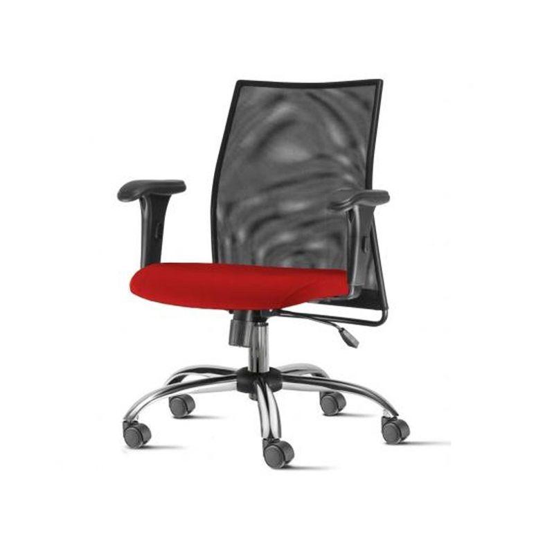 Cadeira-Liss-com-Bracos-Curvados-Assento-Courino-Vermelho-Base-Semi-Arcada-Cromada---54658