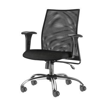 Cadeira-Liss-com-Bracos-Assento-Crepe-Preto-Base-Semi-Arcada-Cromada---54660