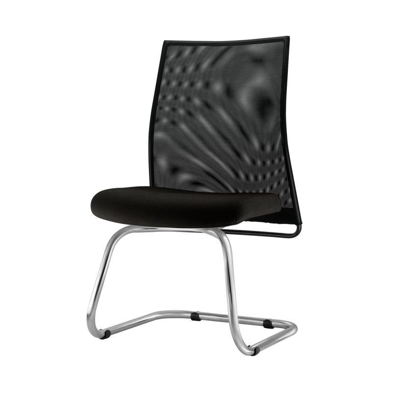 Cadeira-Liss-Assento-Crepe-Preto-Base-Fixa-Cromada---54664