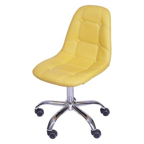 Cadeira-Eames-Botone-Amarelo-com-Base-Rodizio---54683
