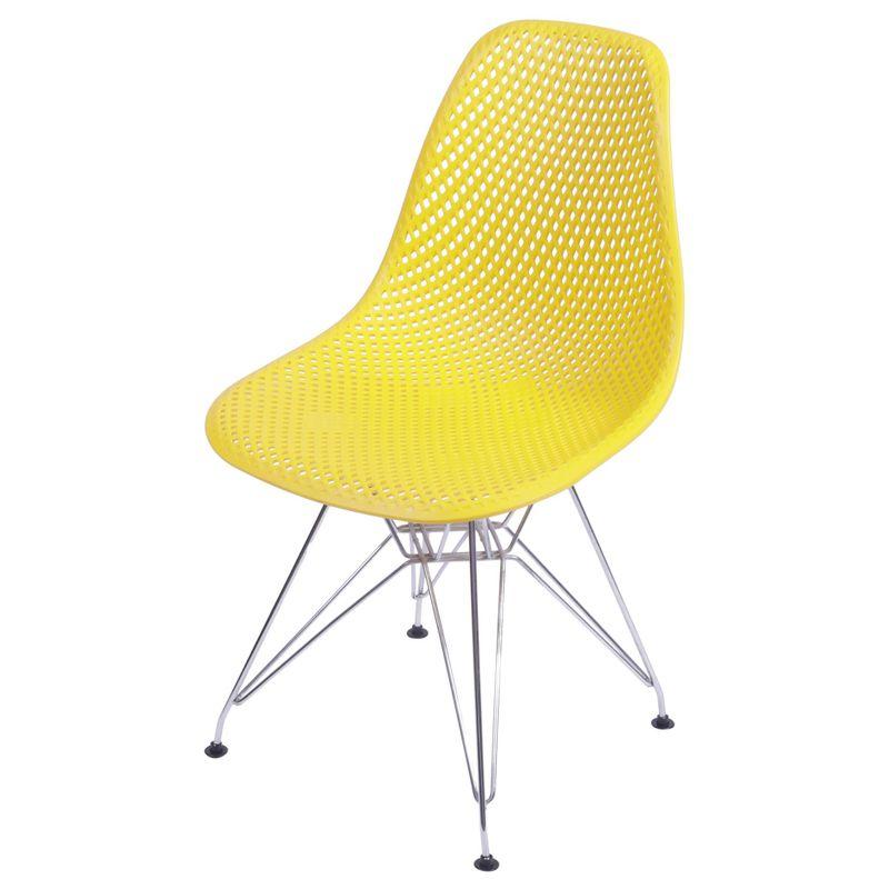 Cadeira-Eames-Furadinha-cor-Amarela-com-Base-Cromada---54700