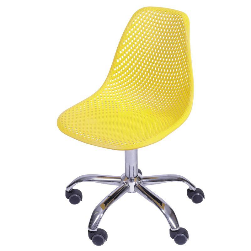 Cadeira-Eames-Furadinha-cor-Amarela-com-Base-Rodizio---54704