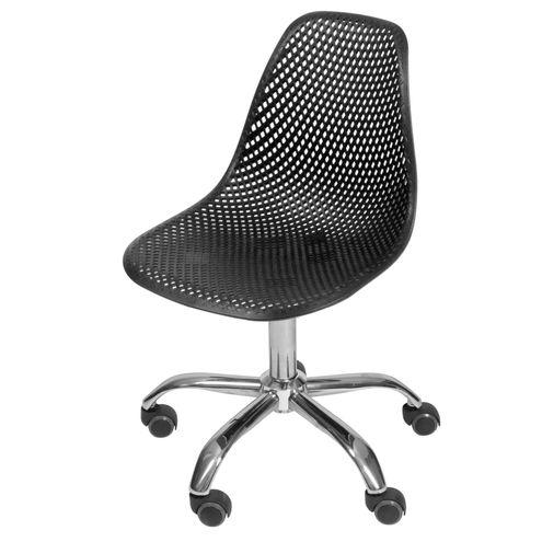 Cadeira-Eames-Furadinha-cor-Preto-com-Base-Rodizio---54707