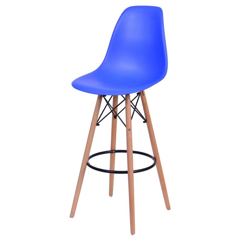Banqueta-Eames-Polipropileno-Azul-Escuro-Base-Madeira---54748