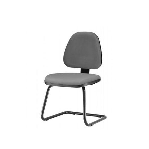 Cadeira-Sky-Assento-Courino-Cinza-Escuro-Base-Fixa-Preta---54837